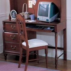 Young America Madison Collection Computer Desk By Stanley Furniture
