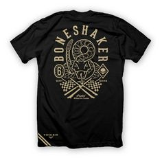 BONESHAKER T (2013) - Mens Casual- TWIN SIX - Alternative Cycling Apparel