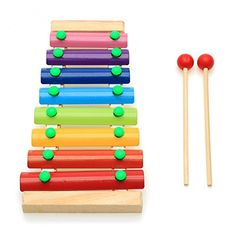 BabyPrice Wooden 8 Notes Xylophone Rainbow Colorful Hand Knock Piano Wisdom Development Enlightenment Musical Toy *** Find out more about the great product at the image link. (This is an affiliate link) Kids Toys Online, Educational Toys For Toddlers, Toddler Preschool, Toddler Toys, Snakes For Kids, Wooden Musical Instruments, Shops, Musical Toys, Teaching Aids