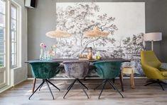 EETKAMER |  Gezien bij Vt wonen weer verliefd op je huis aflevering 5: Onze Mia eetkamerstoel van Zuiver.