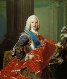 International Portrait Gallery: Retrato del Rey Fernando VI de las Españas -2-