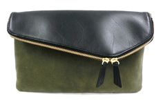 MOLESKINE TURN CLUTCH BAG / MOLESKINE (EMMETEX) x LEATHER / Men's bag