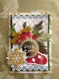 Elegant ~ Anna Griffin Card
