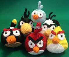 Angry birds family