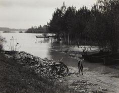 Paul Strand Near the Po. Luzzara. Italy (1953) #TuscanyAgriturismoGiratola
