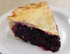 If you haven't eaten Huckleberry Pie you haven't lived yet.  So yummy.