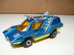 Vintage Matchbox Superfast Cosmobile Diecast Car 1975, Lesney England, Teal