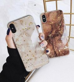 Luxury Gold Foil Bling Marble Phone Case For iPhone X XS Max XR Soft TPU Cover For iPhone 7 8 6 Plus Glitter Case Coque Funda. This is for iPhone Xs Max. I do have other phone sizes available! Iphone 7 Cases Silicone, Diy Iphone Case, Glitter Iphone 6 Case, Marble Iphone Case, Marble Case, Iphone Phone Cases, S8 Phone, Gold Marble, Phone Covers