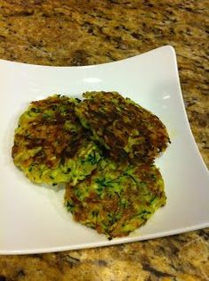 Niki Cooks for Interstitial Cystitis: Zucchini Cakes