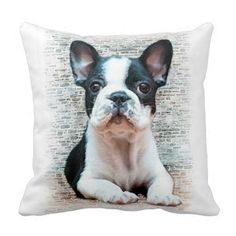 French Bulldog Pillow Case For Throw Pillowcase