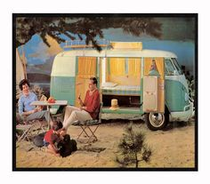 I would so love an old VW camper!!