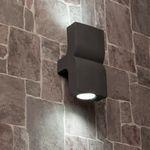 Faro  Applique Extérieure Klamp 2 Lampes Gris Foncé