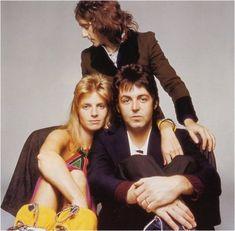 Linda McCartney - Denny Laine - Paul McCartney)