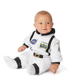 personalized baby astronaut costume