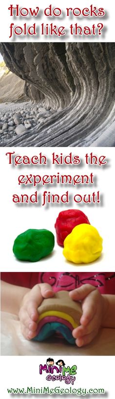 Rock Layer Folding Experiment for Kids