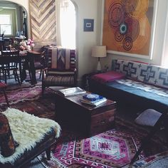 Bohemian Interior | shelterprotectsyou