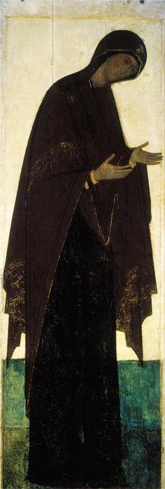 Andrei Rublev ~ Mother of God, 1408