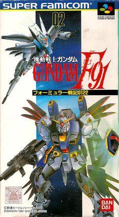 Kidou Senshi Gundam F91: Formula Senki 0122 / Super Famicom / Nova Games Ltd / 1991