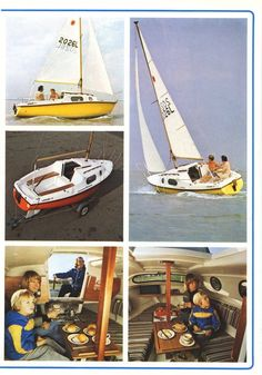 Leisure17 Small Yachts, Sailboat Plans, Sport Boats, Naval, Diy Boat, Boat Building Plans, Yacht Boat, Dinghy, Canisters