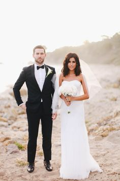 bride and groom, wedding, celebrity weddings, summer, wedding inspiration, outdoors, wedding, malibu, california wedding, malibu beach, bride, groom, elegant, romantic, simple wedding,s, short hair, bhldn, the petal workshop, flowers, white peonies, bouquet ideas, wedding ideas, makeup ideas, wedding makeup, beauty, fashion, style, kurdish, fashion blogger, how to, friendly budget wedding, affordable finds, strapless gown, dress, nordstrom, stevie hendrix, sazan, recap, caraevents, jon volk…