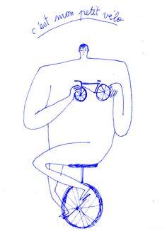 Charlotte Gauvin C'est mon petit vélo