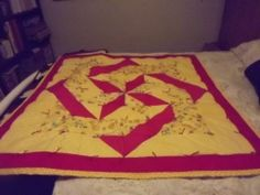 Labyrinth Baby quilt