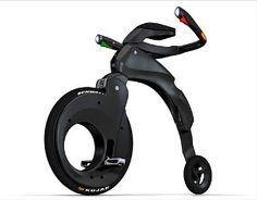 Nuevo concepto de bicicleta para la ciudad 2009