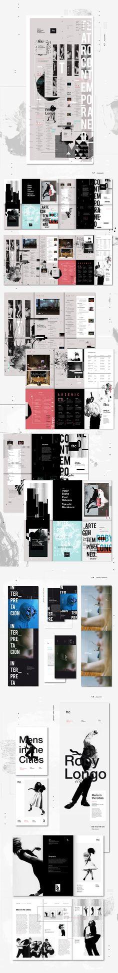 Ftc - Festival de Teatro Contemporáneo - Parte 2 on Behance                                                                                                                                                                                 Más