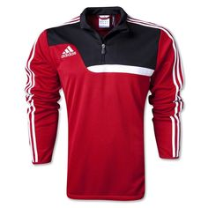 adidas Tiro 13 Red Training Top - model W55067 - only $53.99 Soccer Gear, Youth Soccer, Soccer Warm Ups, Team Jackets, Training Tops, Soccer Players, Fathers Day Gifts, Adidas Jacket, Gift Guide