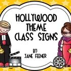 Are you using a Hollywood theme to decorate your class for Back to School?  If so you may like these Hollywood class signs that I use in my Hollywo...