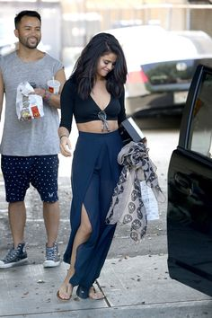 June 11, 2014 - Selena Gomez leaving Nine Zero One Salon in West Hollywood