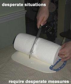 Toilet Paper Life Hack