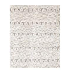 Massinissa Handknotted Rug  90% Wool, 10% Cotton