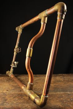 Yorkshire Copper and Brass Heated Towel Rail