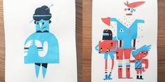 Negative Space Creates Characters That Are Positively Perfect | Doodlers Anonymous