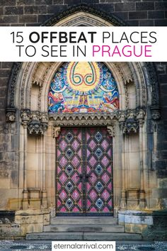 Want to see Prague off the beaten path? These unique things to do in Prague are rarely on any tourists' Prague itinerary, so check out my favorite local places in Prague (from someone who used to live in Prague! Cool Places To Visit, Places To Travel, Places To Go, Prague Things To Do, Prague Must See, Prague Travel Guide, European Travel, Euro Travel, European Vacation