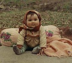 Russian Village Baby. #BabushkaBaby