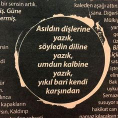 Başar Başaran kafa dergisi Quotes About Everything, Happy Campers, Karma, Words, Instagram Posts, Life, Horse