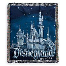 Disneyland 60th Anniversary Throw
