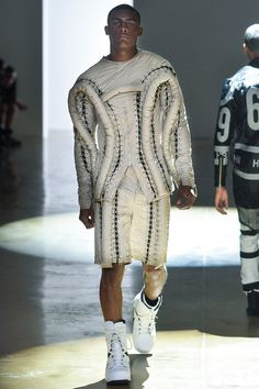 Hood By Air | Spring 2014 Menswear Collection | Style.com Love the twist of this collection. Nice!