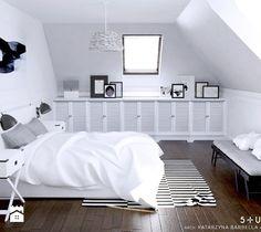 dom dla pary alternatywa - Sypialnia, styl skandynawski - zdjęcie od 5tud10 architektoniczne