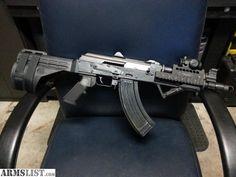 SB47 Stabilizing brace on PAP M92PV AK pistol with MI US Palm forearm