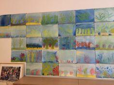 Wieren en algen schilderen