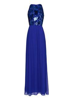 MANGO - Sequins gown