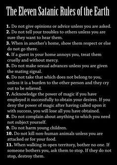 Christian dating satanist