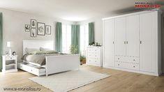 Dormitor complet alb Clemence Bedroom Closet Design, Design Case, My Room, Sweet Home, Entryway, Interior Design, House, Furniture, Roxy