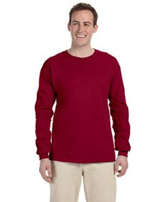 d41795fa456 G240 Gildan Ultra Cotton® 6 oz. Long-Sleeve T-Shirt