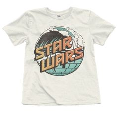For your Star Wars fanboy, this vintage style tee is unlike the others. Ultra soft and comfortable, he's gonna practically live in this! - Classic Fit Ivory Tee - 100% Cotton Jersey - Made in the USA