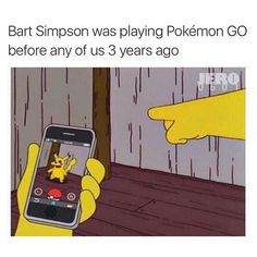 Bart did it first FOLLOW @pokemon_go.memes FOR MORE. #anime #nintendo #pikachu #manga #pokemon #shinypokemon #pokemonx #naruto #art #pokemongo #pokemoncards #otaku #pokemony #pokemontcg #fairytail #cute #charizard #attackontitan #pokemonxy #drawing #pokemoncommunity #tokyoghoul #onepiece #love #pokeball #bleach #gamer #pokemonoras
