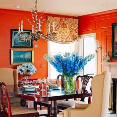 Before and After Dining Rooms//Sometines neutral is better